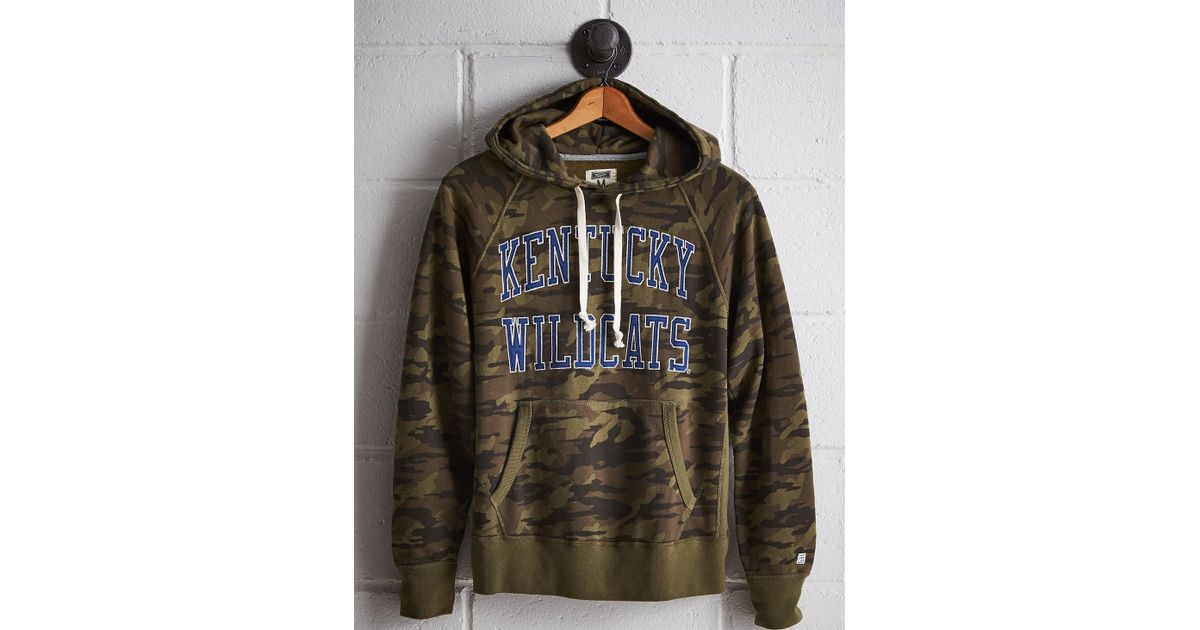 Lyst tailgate mens kentucky camo hoodie in green for men
