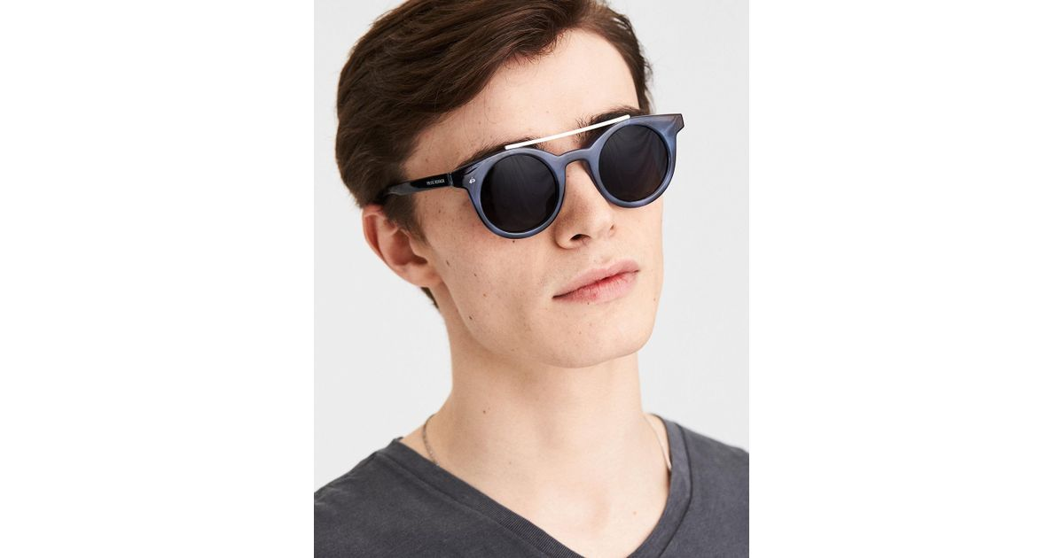 a450da6b1cd Lyst - American Eagle Privé Revaux The Reagan Sunglasses in Blue for Men