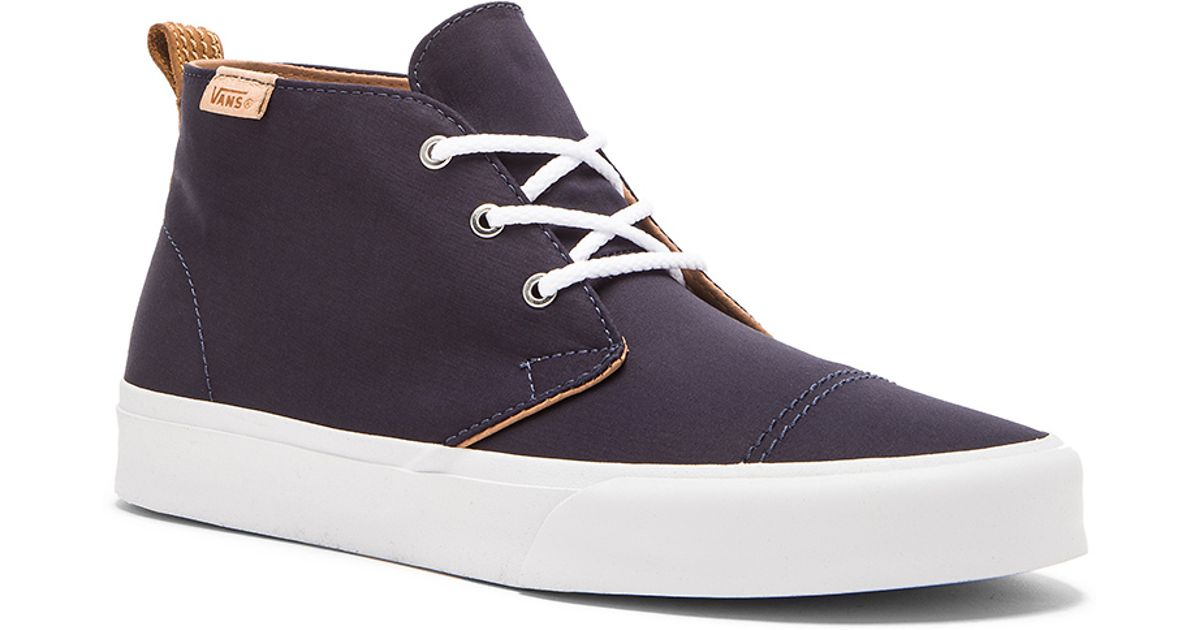 4725169e6d08b0 Lyst - Vans California Chukka Decon Brushed Twill in Brown for Men