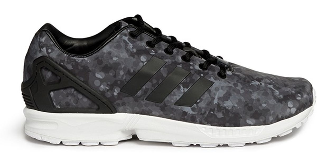 1036561f6 Lyst - White Mountaineering X Adidas Originals  zx Flux  Snow Camouflage  Sneakers in Gray for Men