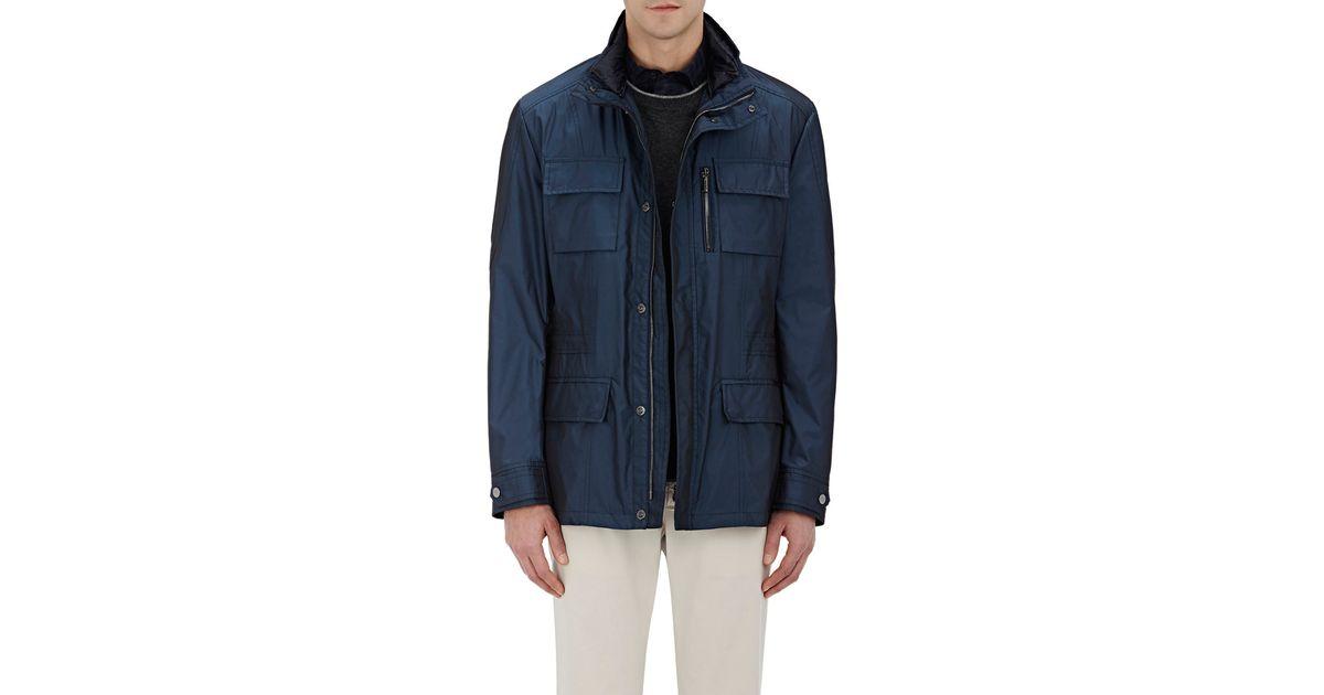 d19971b0d Moorer - Blue Men's Tech-fabric Down Manolo Field Coat for Men - Lyst