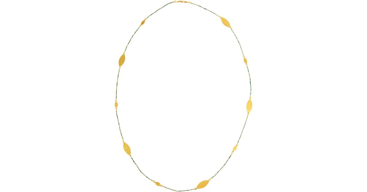Gurhan Clustered Long Clove Flake Station Necklace tT5SQbt