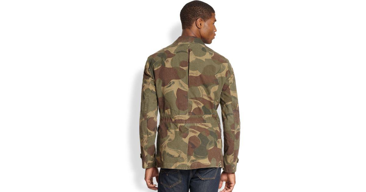Polo ralph lauren Desert Camo Sportcoat in Green for Men | Lyst