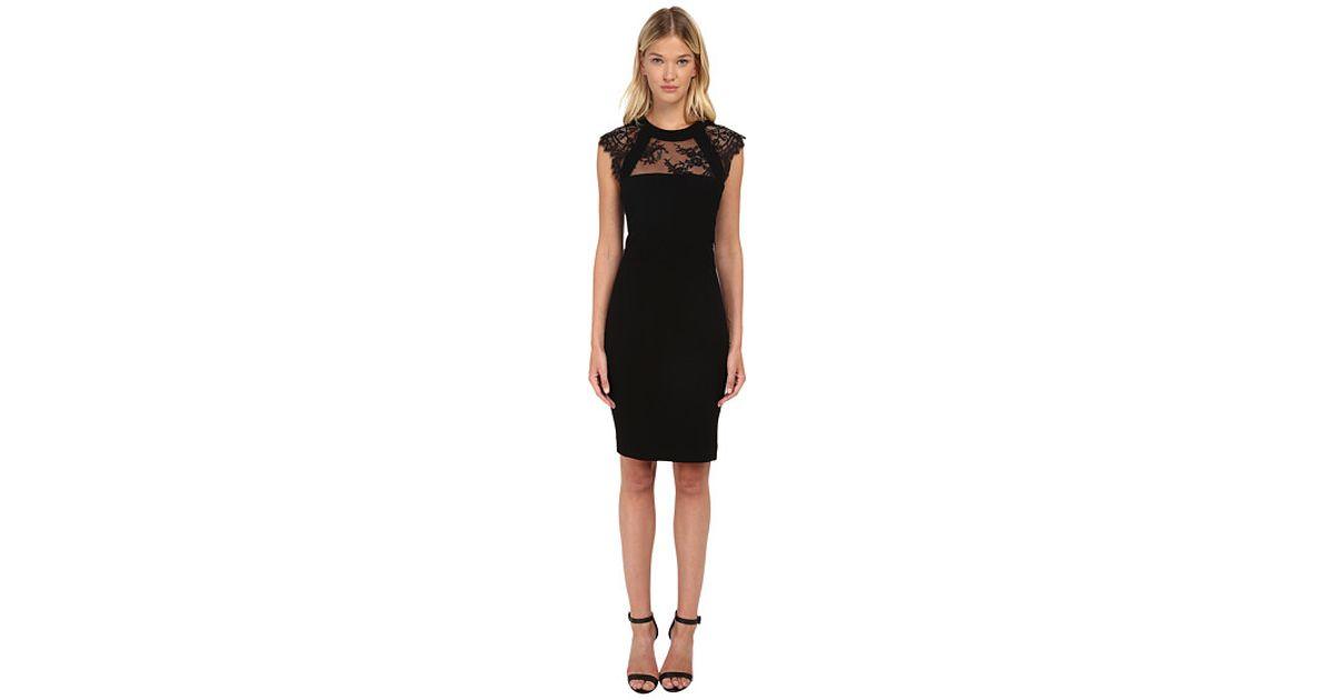 c50b6f5e578 The Kooples Lace Dress in Black - Lyst