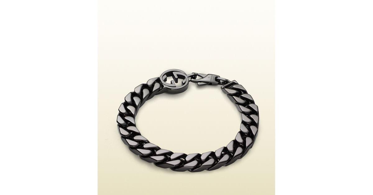 Gucci Interlocking G bracelet in silver - Metallic tC0Mc8WXX
