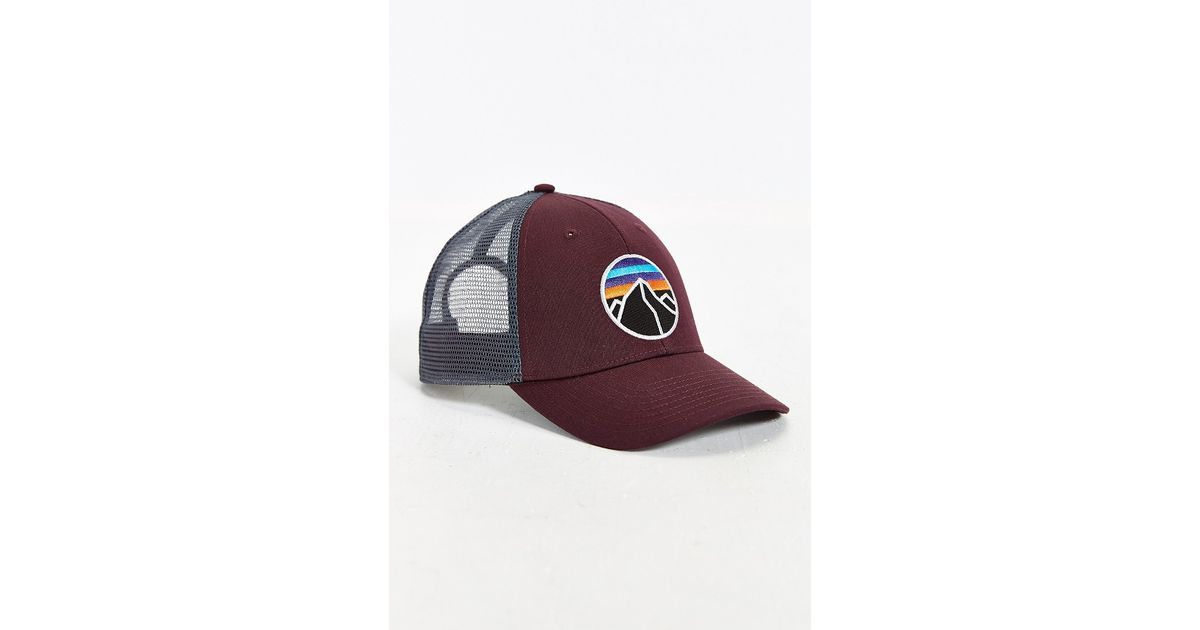 f2ed6bab7c80f Patagonia Fitzroy Emblem Lo-pro Hat in Brown for Men - Lyst