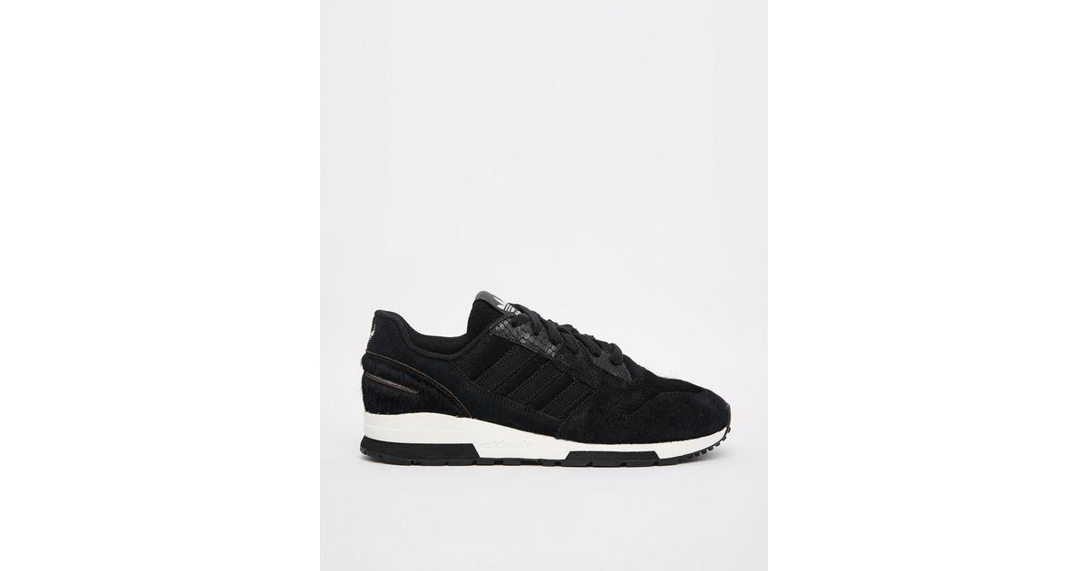 6069f80b39cb ... cheap lyst adidas originals zx 420 black sneakers in black accff 4f925