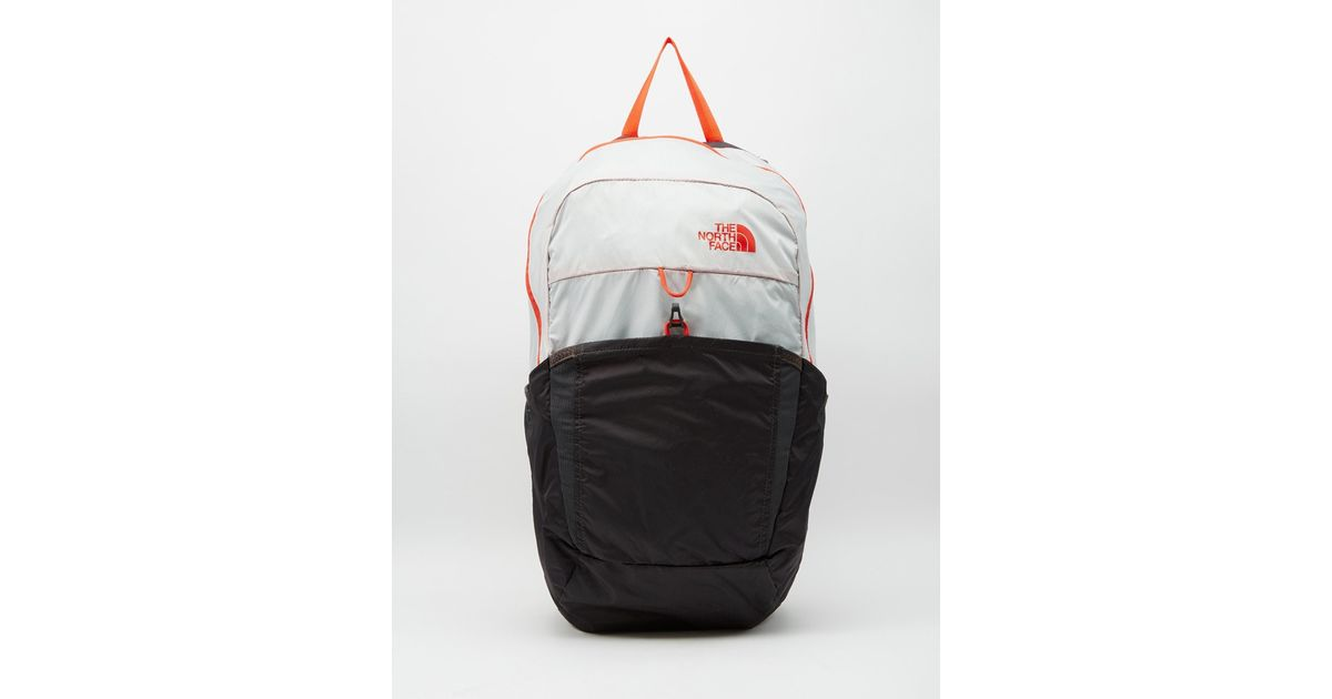 9b79991f2 The North Face White Flyweight Packable Backpack for men
