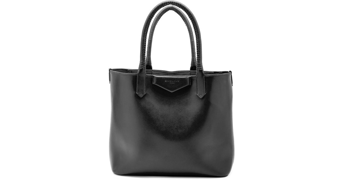 Lyst - Givenchy Antigona Whipstitch-handle Tote Bag in Black 4be2e33ca1