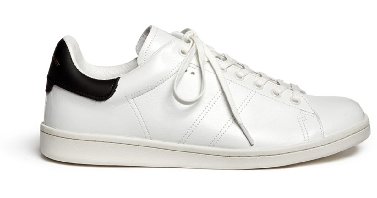 Isabel Marant Leather Sneakers Clearance Visit Release Dates Cheap Price Cheap Outlet Locations 100% Original Cheap Price For Nice Cheap Online C9oXI1u