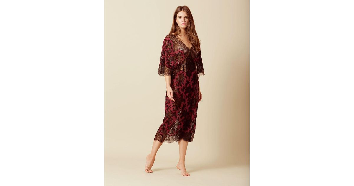 new concept utterly stylish new release Agent Provocateur Red Cora Dress Burgundy And Black