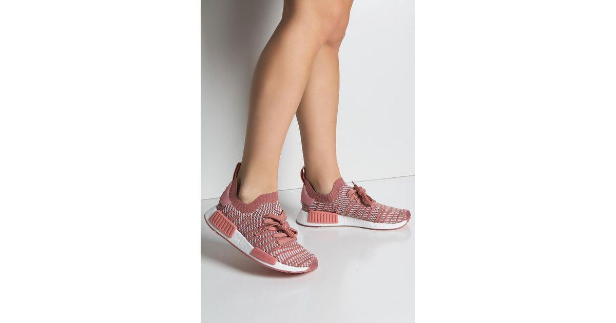 Adidas Adidas Adidas 'nmd r1 Stlt' Baskets in Rose Save % Lyst 733c07