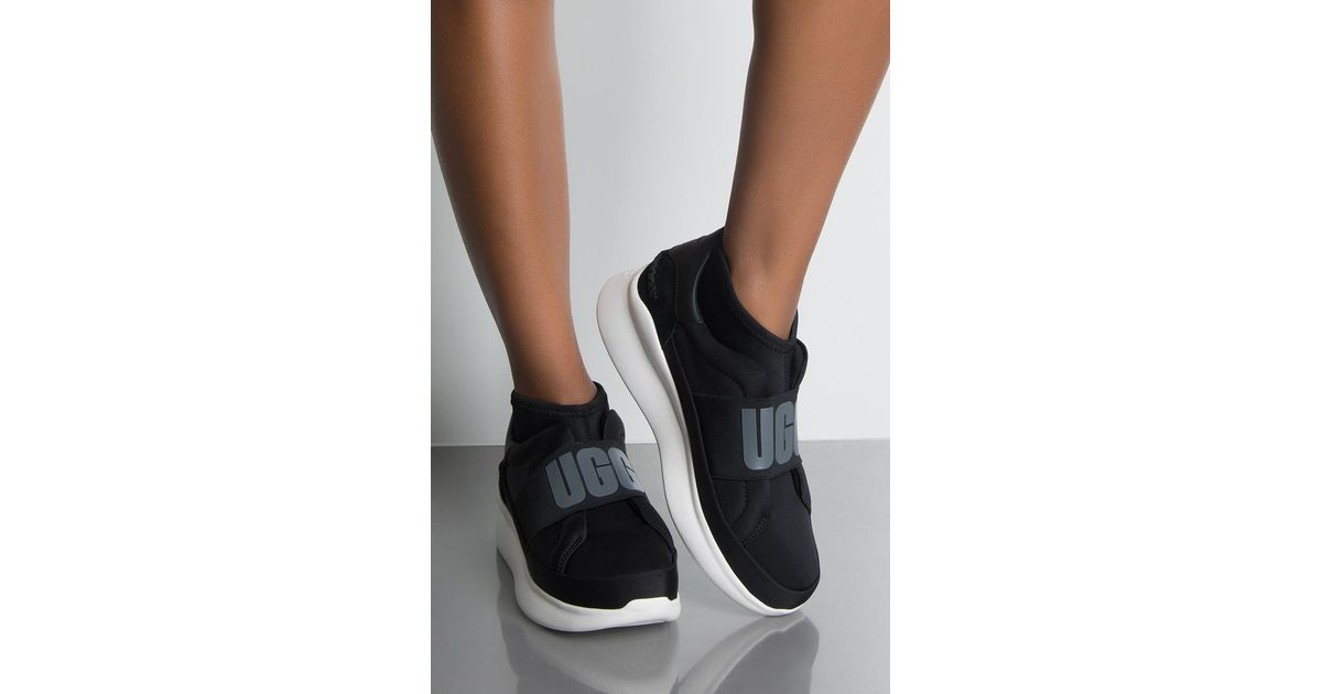 d7c90a66d5d Akira Black Ugg Neutra Trainer Sneakers