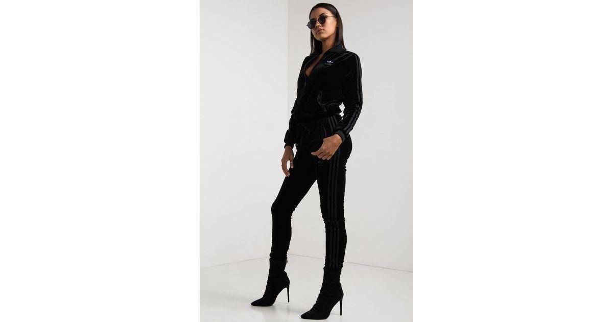 adidas velvet vibes black jacket