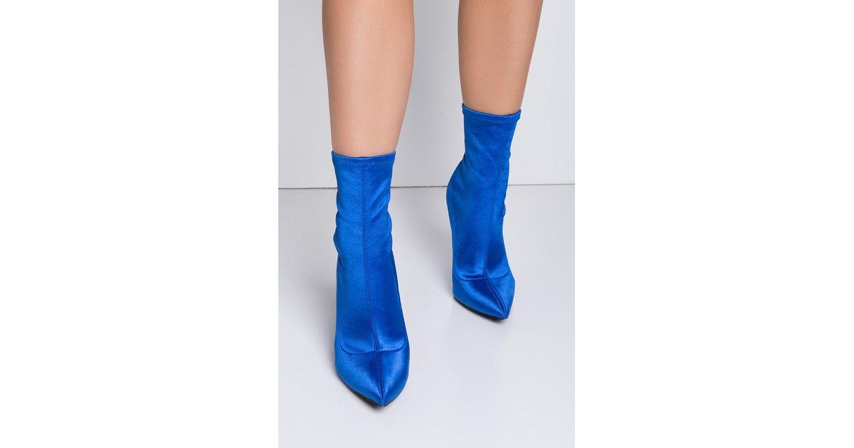 AKIRA Synthetic La Lovin' Stiletto Sock