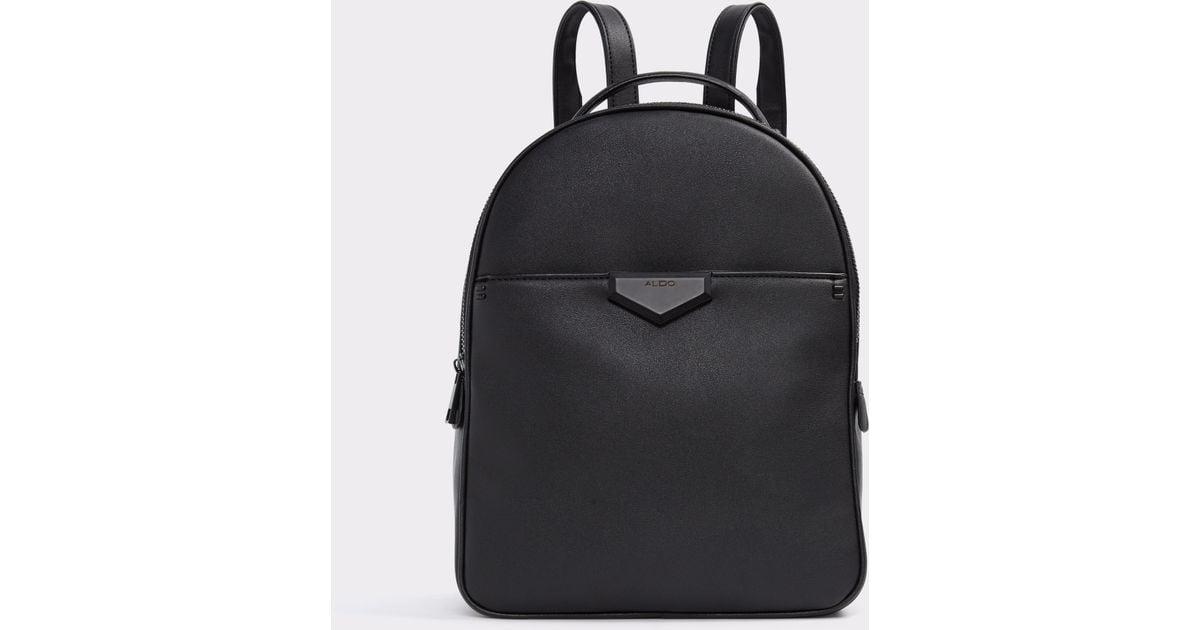 Womens Hughson Backpack Black (Black Leather) Aldo GtY4ASFMZD