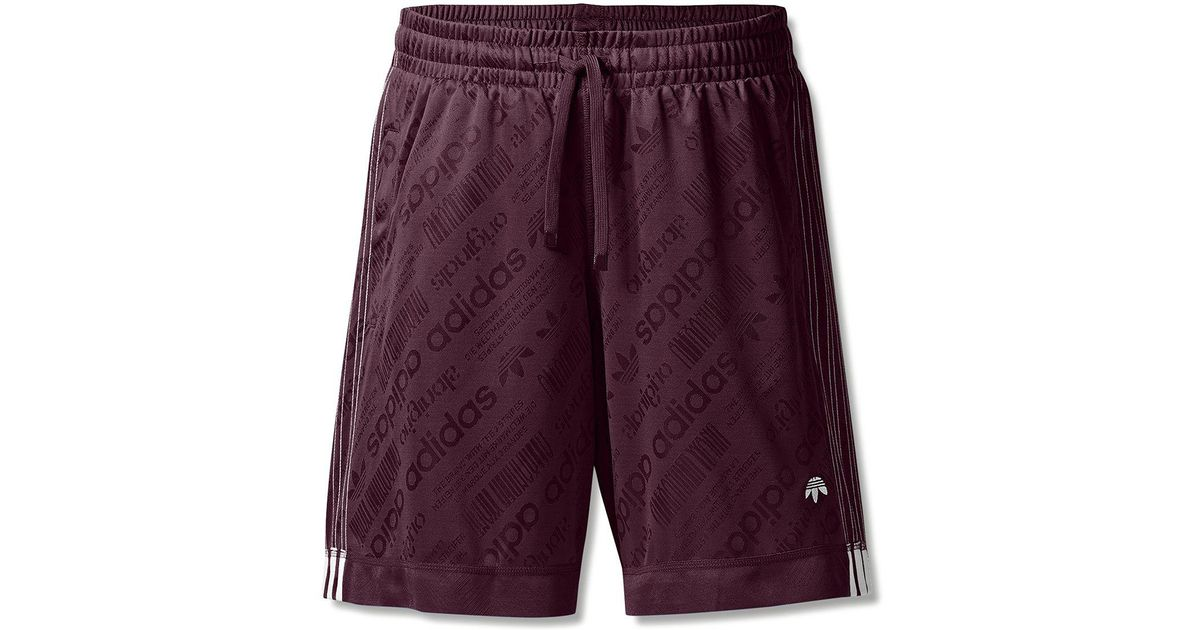 85e40c721991 Alexander Wang Adidas Originals By Aw Soccer Shorts in Purple for Men - Lyst