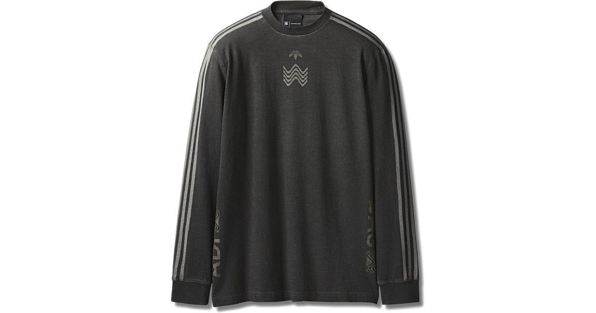 8e400536370f Alexander Wang Adidas Originals By Aw Bleach Long Sleeve Shirt in Black for  Men - Lyst