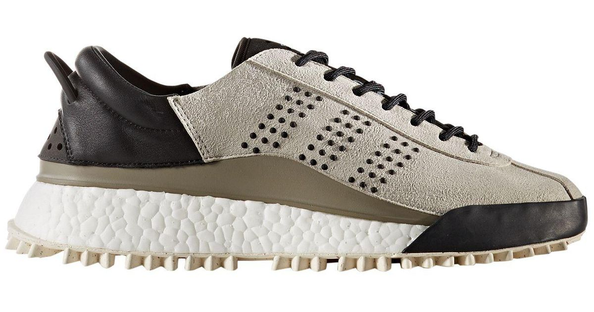 Adaptación cooperar menta  Alexander Wang Suede Adidas Originals By Aw Hike Lo Shoes in Gray for Men -  Lyst