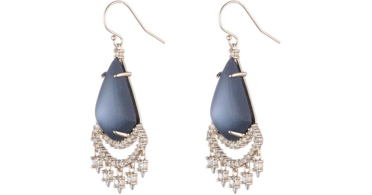 Alexis Bittar Crystal Lace Chandelier Earrings zFpM3xJaSy