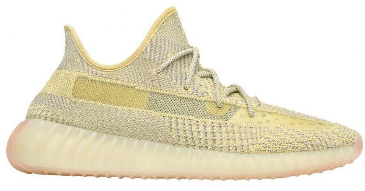 302eb1611d249 Adidas Yellow Yeezy Boost 350 V2