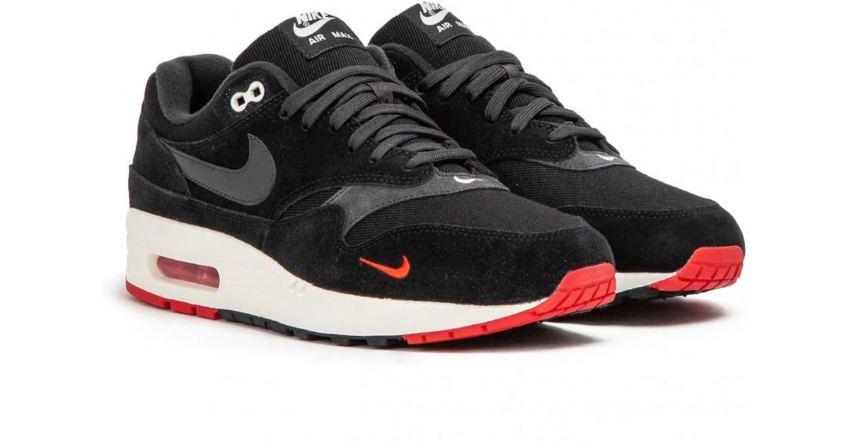 Nike Air Max 1 Premium ''Mini Swoosh Pack'' (Black Red