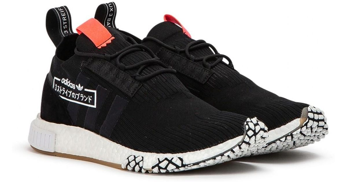premium selection 554f7 cf728 adidas Nmd Racer Pk Alphatype in Black for Men - Lyst