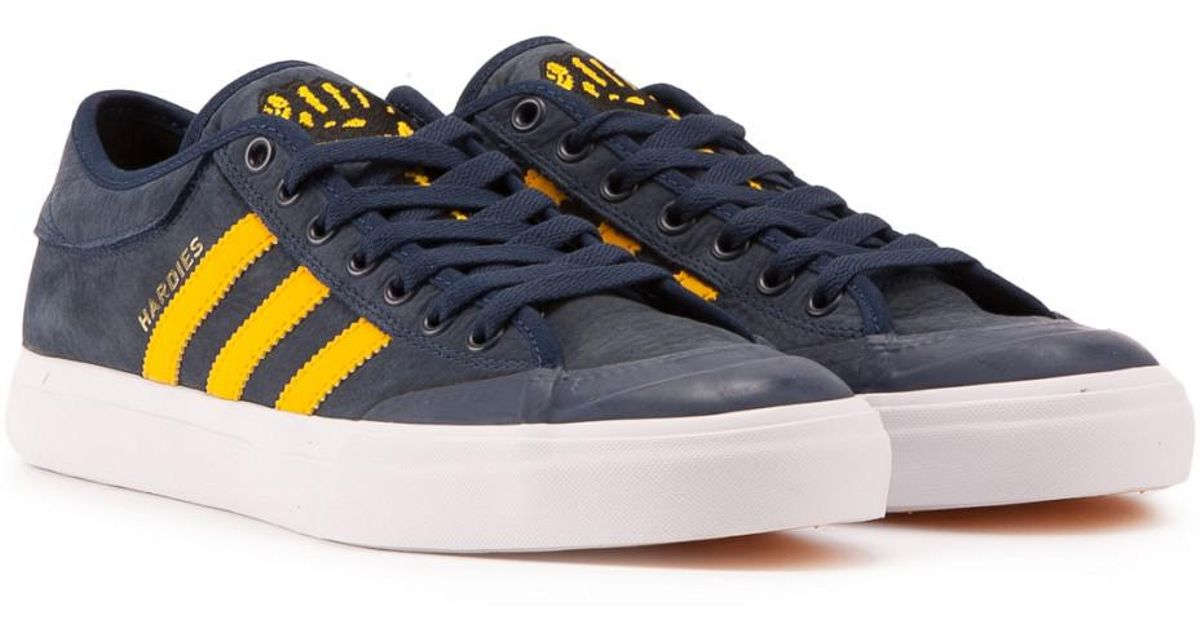 newest fee2e 415b8 adidas Originals Adidas Matchcourt Hardies in Blue for Men - Lyst