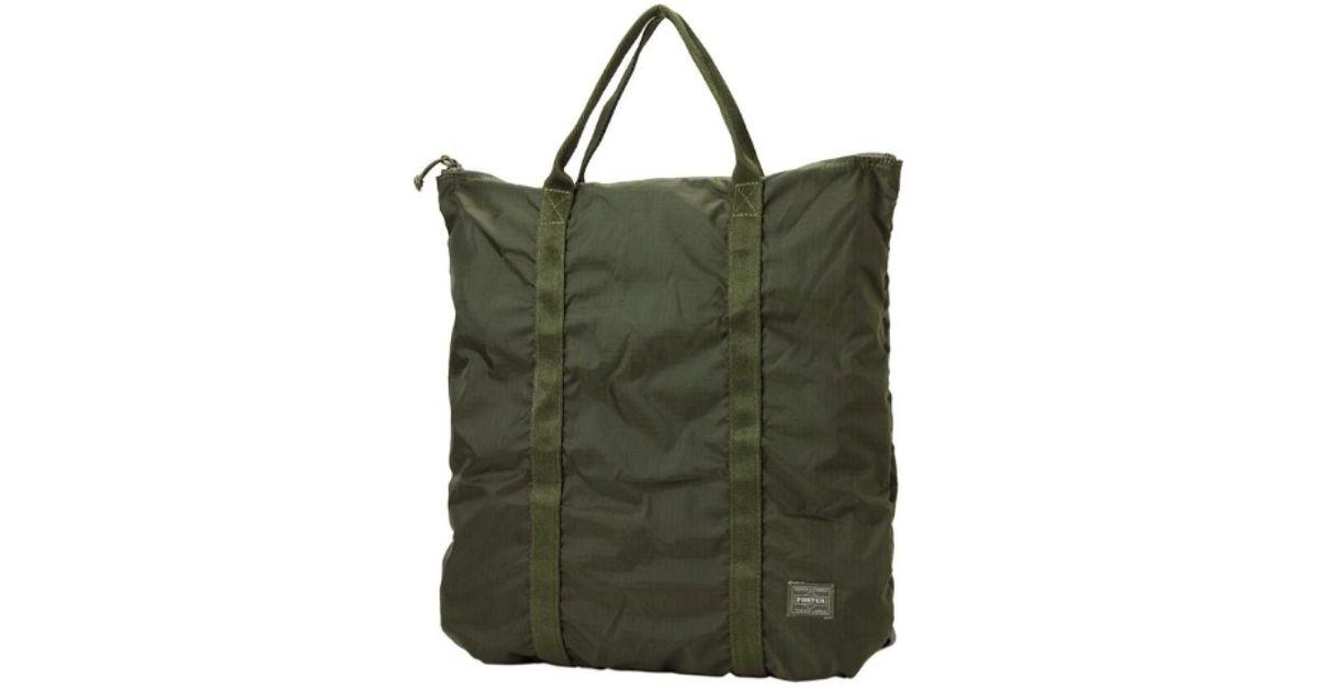 Lyst - Porter Porter Flex 2 Way Tote Bag in Green for Men 290948e2d6b69