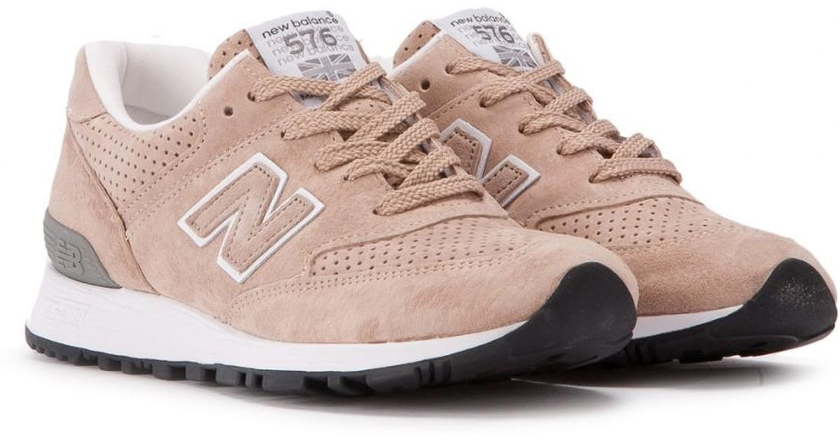 sports shoes 47c39 209f9 New Balance Pink W 576 Tto Made In England