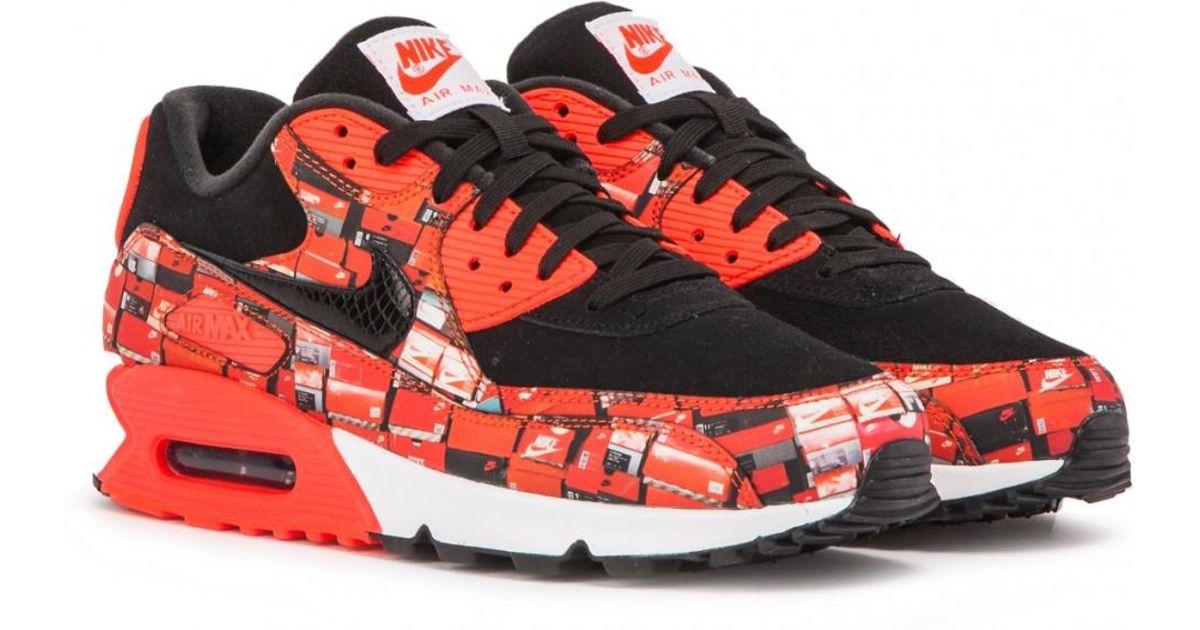 Nike Black Air Max 90 Prnt