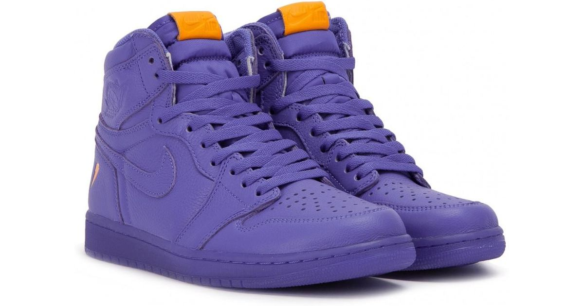 brand new 2bc7c 9279c Nike Purple Air Jordan 1 Retro High Og Gatorade Edition for men