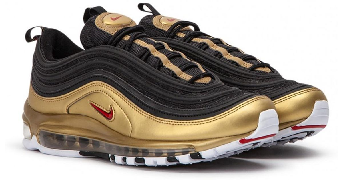 Nike Multicolor Air Max 97 'b sides' Qs Black Gold for men
