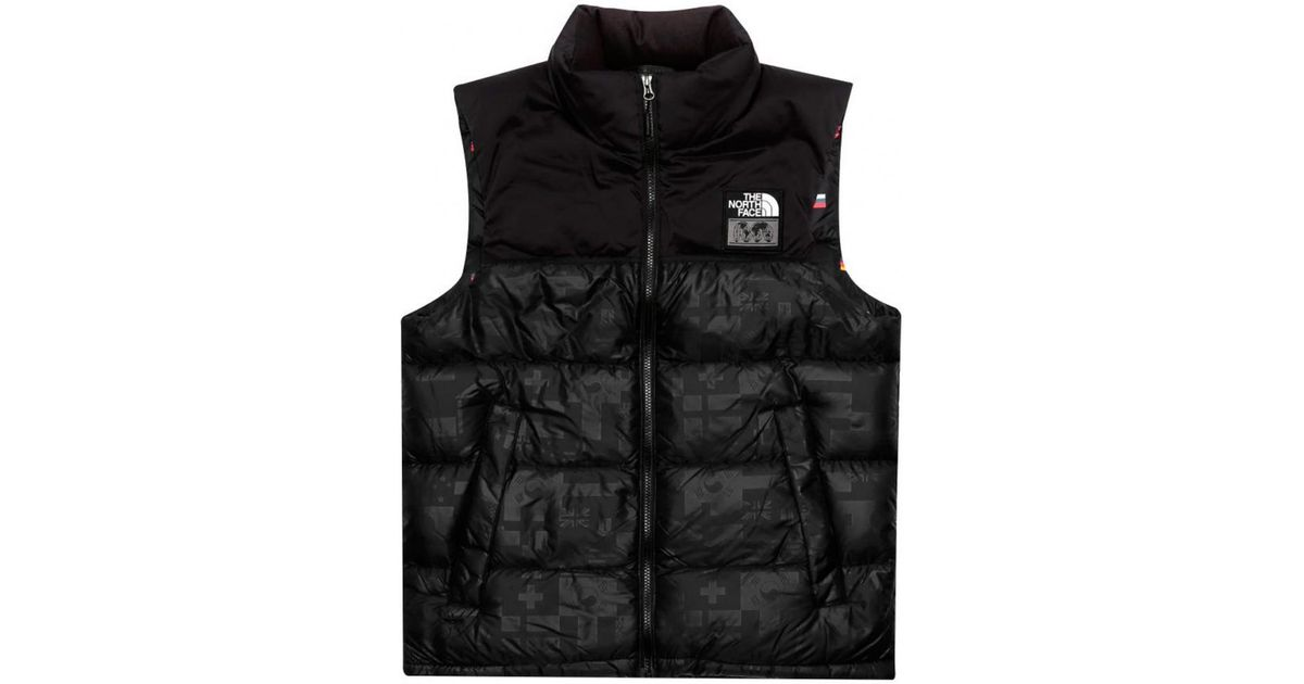 5b1efb81e The North Face M Ic Nuptse Vest High Rise Black Flag