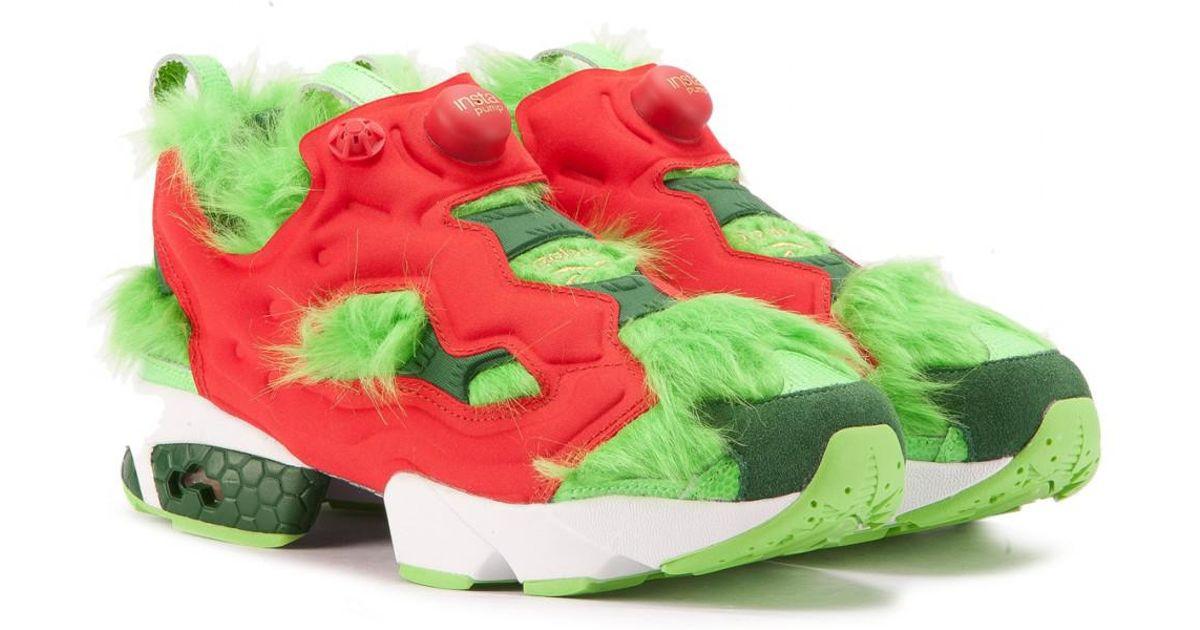 reebok pump fury green - 55% OFF