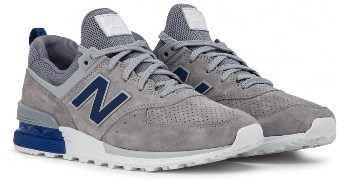 New Balance White Ms 574 Blg for men