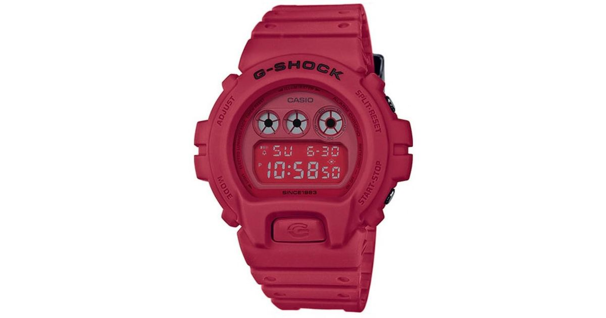 5171145dbd42 Lyst - G-Shock Casio Dw-6935c-4er 35th Anniversary Red Out Limited in Red  for Men