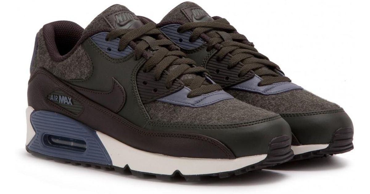 Air Max Premium 90 In Wool Nike Lyst Pack Sequoia Retro FOqRaa