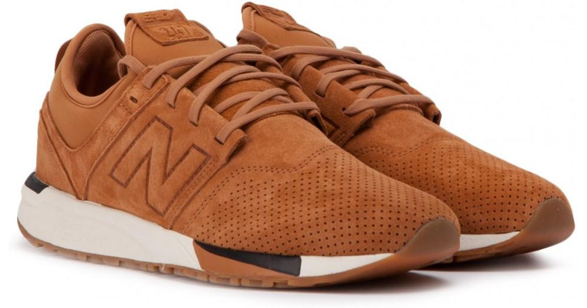 New Balance Leather Mrl 247 Wt in Tan (Brown) for Men - Lyst
