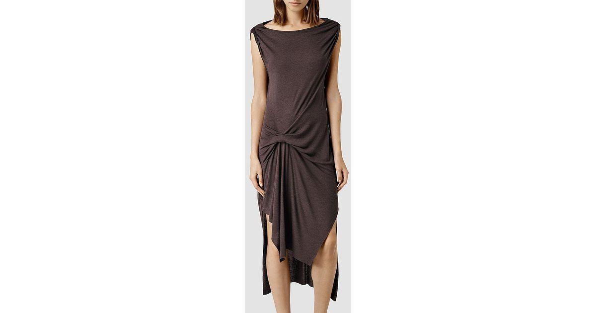 033cb1c9aa Lyst - AllSaints Riviera Wo Dress in Purple