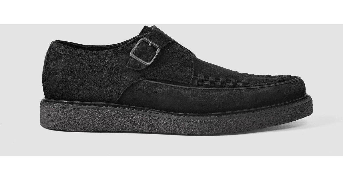 2d5e46e7bca AllSaints Black Arc Shoe Usa Usa for men