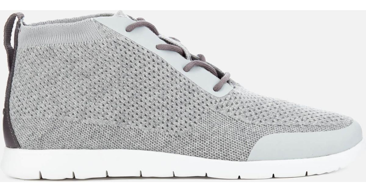 4bfd444b8af Ugg Gray Men's Freamon Hyperweave Desert Boots for men