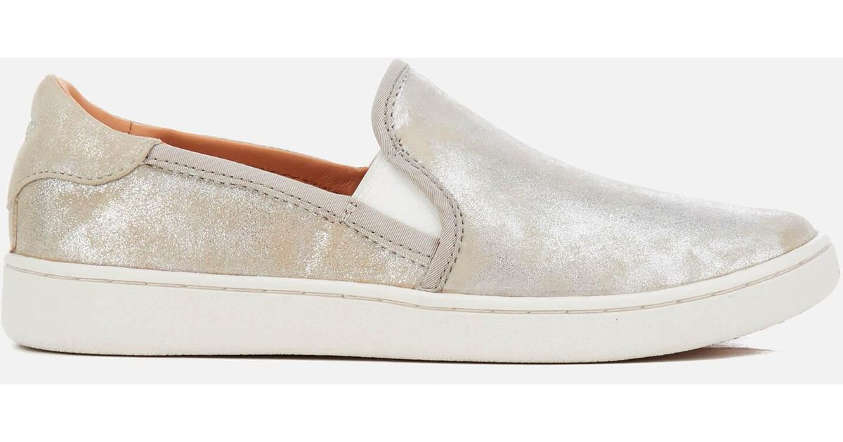 d1c228a4263 Ugg Women's Cas Stardust Metallic Suede Slip-on Trainers