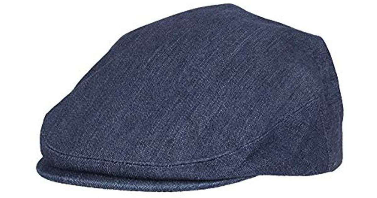 Lyst - Levi S Ivy Newsboy Hat in Blue for Men dcbf28e11a4