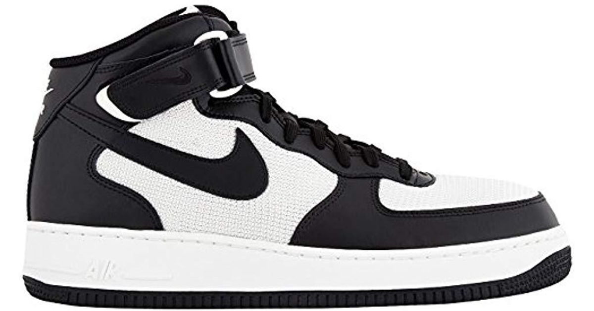 Nike - Black Air Force 1 Mid 07 Trainers for Men - Lyst