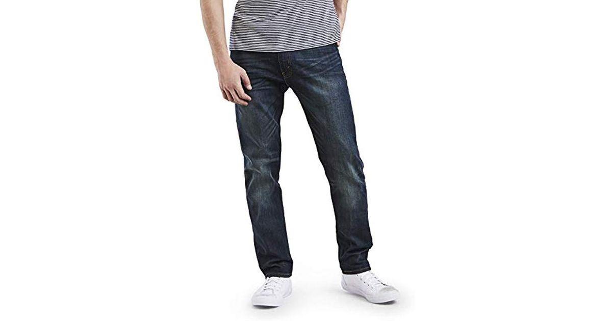 b2293744dde Lyst - Levi's Big And Tall Big & Tall 502 Regular Taper Jean in Blue for Men  - Save 17%