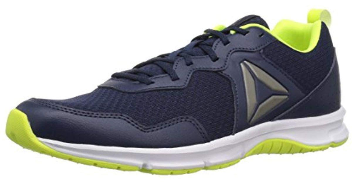 04b9e15cec513f Lyst - Reebok Express Runner 2.0 Running Shoe in Blue for Men