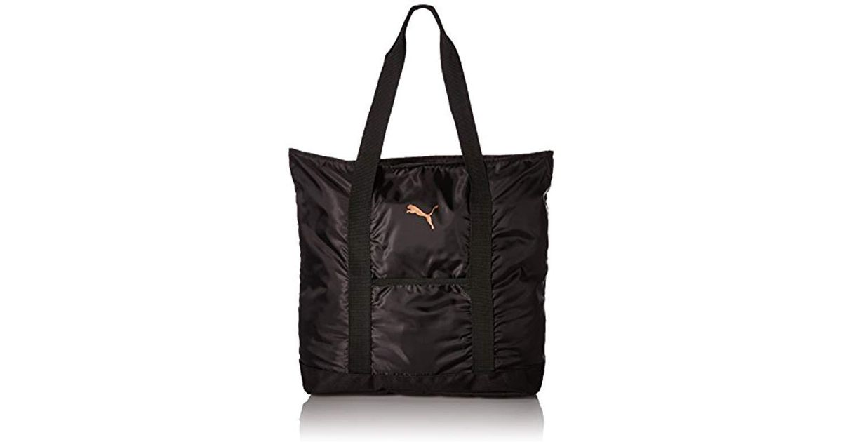 62b8975d49 Lyst - PUMA Evercat Cambridge Tote in Black