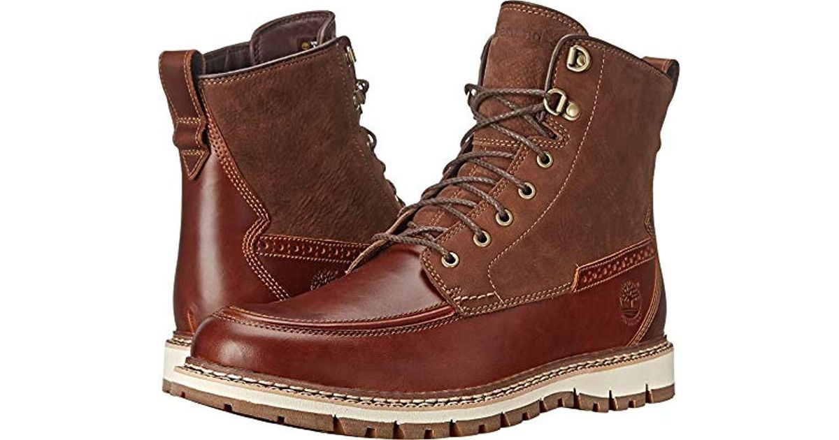 Britton Hill Moc-toe Waterproof Boot
