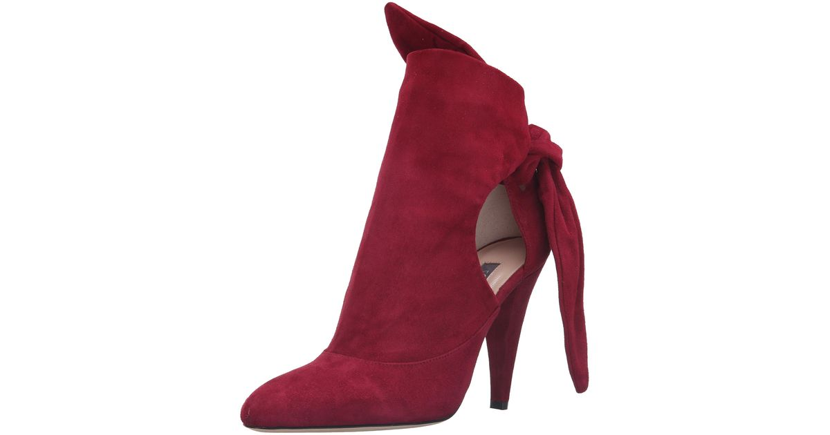 Giampaolo Viozzi Bordeaux Pointed Toe Suede Mule